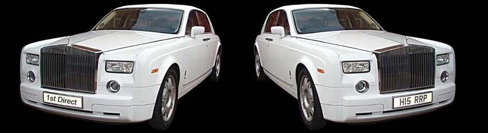 2 Rolls Royce Phantoms